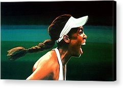 Athletes Acrylic Prints