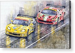 Chevrolet Paintings Acrylic Prints