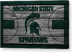 Michigan State Acrylic Prints