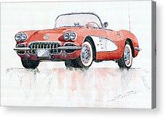 Car Acrylic Prints