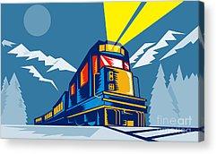 Railway Tracks Acrylic Prints