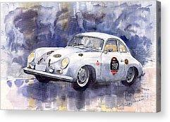 Porsche 356 Acrylic Prints