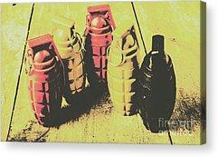 Grenade Acrylic Prints