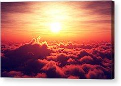 Aerial View Acrylic Prints