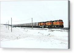 Locomotive Acrylic Prints