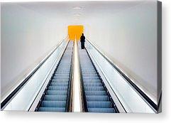 Escalator Acrylic Prints