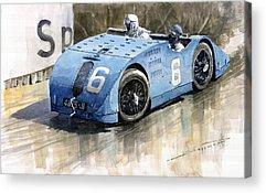 Race Car Acrylic Prints