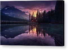 Banff Acrylic Prints