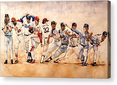 Red Sox Art Acrylic Prints