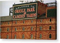 Baltimore Baseball Parks Acrylic Prints