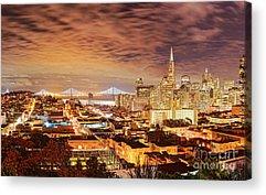 San Francisco Embarcadero Acrylic Prints