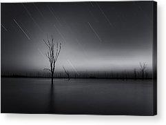 Startrails Photographs Acrylic Prints