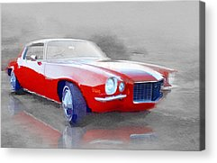 Old Chevy Acrylic Prints