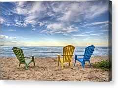 Lake Shore Acrylic Prints