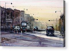 Street Scene Acrylic Prints