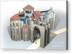 St Anthony The Great Acrylic Prints