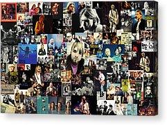 Mixed Media Collage Acrylic Prints