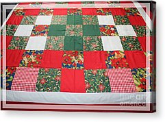 Queen Size Quilts Acrylic Prints