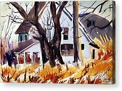 Indiana Scenes Paintings Acrylic Prints