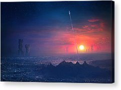 Scifi Acrylic Prints