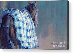Bay Thoroughbred Acrylic Prints