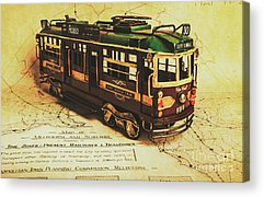 Designs Similar to Icon Melbourne Tram Art