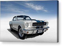 Classic Ford Mustang Acrylic Prints