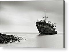 Shipwreck Acrylic Prints