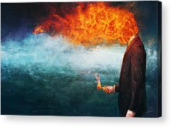 Flames Acrylic Prints
