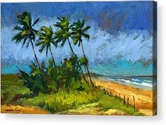 Windblown Paintings Acrylic Prints