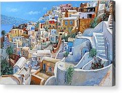 Greece Acrylic Prints