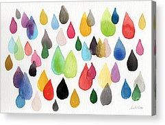 Purple Abstract Acrylic Prints