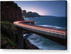 Coastal Highway Acrylic Prints