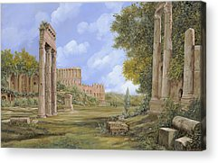 Ruin Paintings Acrylic Prints