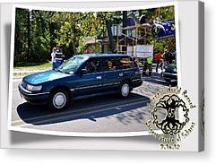 Subaru Parade Acrylic Prints