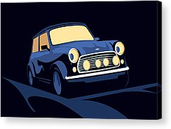 Mini Cooper Acrylic Prints