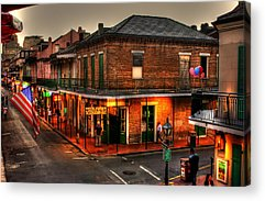 French Quarter Acrylic Prints