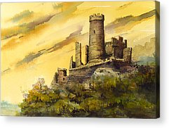 Castle Acrylic Prints
