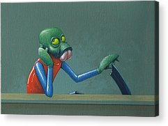 Baba Paintings Acrylic Prints