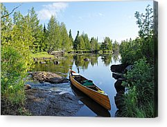 Boundary Waters Canoe Area Wilderness Acrylic Prints