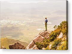 Hike Acrylic Prints
