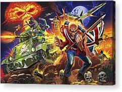 Iron Maiden Acrylic Prints