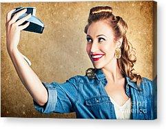 Self Shot Photographs Acrylic Prints