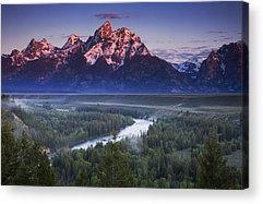 River Acrylic Prints
