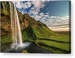 Famous Waterfall Acrylic Prints