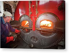 Working Conditions Photographs Acrylic Prints