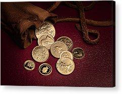 Coin Acrylic Prints