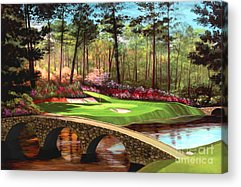 Course Paintings Acrylic Prints