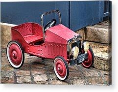 Pedal Car Acrylic Prints