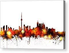Toronto Acrylic Prints